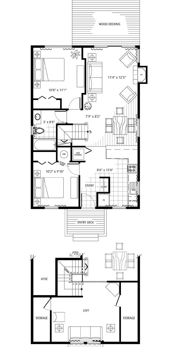 Eaglecroft Cottage Floor Plan